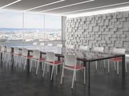 Stackable chair E-MOTION - Segis