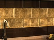 Indoor glass wall tiles DIAMANTE - Brecci by Eidos Glass