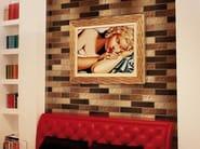 Glass wall/floor tiles MURANO METAL E FLAT - Brecci by Eidos Glass