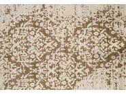 Contemporary style handmade rug TAJ MAHAL PLATINE - EDITION BOUGAINVILLE