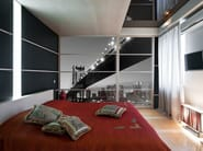 Glass sliding door DIGITAL DOORS - Brecci by Eidos Glass