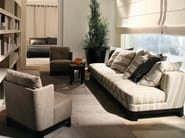 Sofa with removable cover KEETON | Sofa - Meridiani