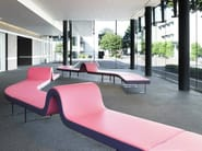 Round modular bench HIGHWAY E - Segis