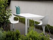 Sled base polyurethane chair ELEPHANT | Sled base chair - Kristalia