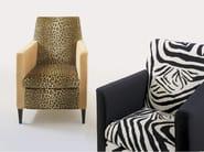 Upholstered fabric armchair BATTIGIA - GIOVANNETTI COLLEZIONI