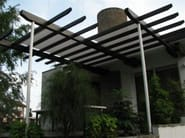 Exterior blind - Abitazione privata - Veranda con cavi