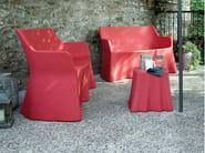 3 seater modular plastic sofa