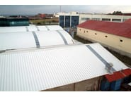 Insulated metal panel for roof TERMOCOPERTURE® RP/ST 3G - ELCOM SYSTEM