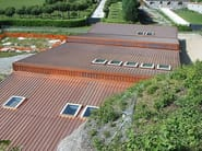 Insulated metal panel for roof TERMOCOPERTURE® TCP/C-RAME - ELCOM SYSTEM