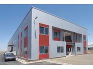 Insulated metal panel for facade TERMOPARETI® WPM/C - ELCOM SYSTEM