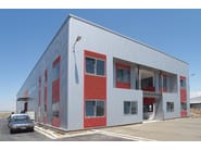 Insulated metal panel for facade TERMOPARETI® TPL/C-ST - ELCOM SYSTEM