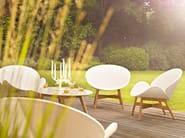 Garden armchair with armrests DANSK | Garden armchair - Gloster