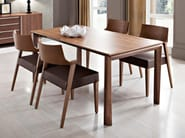 Extending kitchen dining wooden table