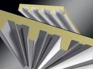 Insulated metal panel for roof SIGMA - Isolpack