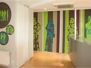 Panoramic wallpaper