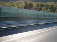 Road noise barrier AKURAIL 3000 - Sitav Costruzioni Generali