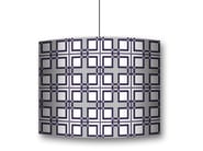 Drum shaped lampshade