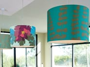 Drum shaped lampshade