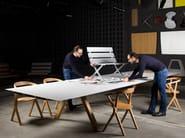 Modular Bench with armrests BENCH B | Bench with armrests - BD Barcelona Design