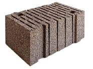 Lightweight concrete block for external wall LECABLOCCO BIOCLIMA SUPERLIGHT - LecaSistemi