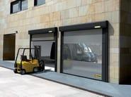 Rapid vertical roll-up door