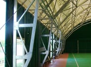 Steel roof and truss structure SIDEWALL - Kopron
