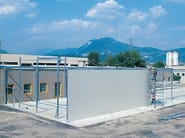 Prefabricated structural element for roof PANELLING WAREHOUSES - Kopron