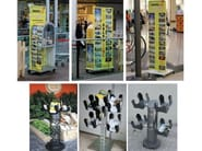 Floor-standing display unit for brochures Display unit - SELVOLINA