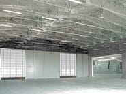 Steel building system FREESTANDING FIXED OR RETRACTABLE - Kopron
