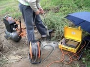 Instrumentation for geognostic investigation SEISMIC DOWN-HOLE/CROSS-HOLE TESTING - M.A.E. - Advanced Geophysics Instruments