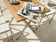 Folding teak garden table KORE | Folding garden table - Gloster