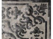 Handmade silk rug POMPADOUR PEARL - EDITION BOUGAINVILLE