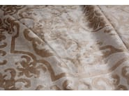 Handmade silk rug POMPADOUR SILVER - EDITION BOUGAINVILLE