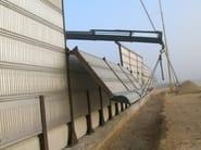 Road noise barrier AKURAIL 5000 - Sitav Costruzioni Generali