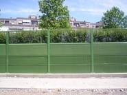 Road noise barrier AKUGLASS - Sitav Costruzioni Generali