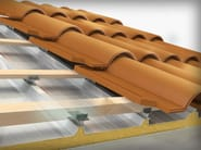 Support for photovoltaic system DRYFIX | Ventilated roof system - Sitav Costruzioni Generali
