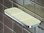 Wall-mounted soap dish