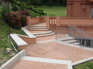 Cement wall coping CEMENT | Wall coping - BACCARO I CEMENTISTI