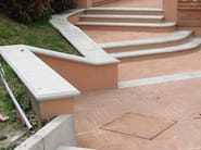 Cement wall coping CEMENT   Wall coping - BACCARO I CEMENTISTI