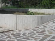 Cement fencing panel CEMENT | Fencing panel - BACCARO I CEMENTISTI