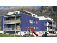 Dry-laid cement and fibre cement sheet MODULA C - SWISSPEARL Italia