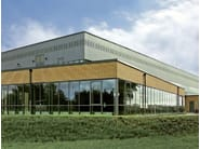 Dry-laid cement and fibre cement sheet SWISSPEARL® | Perforated panels - SWISSPEARL Italia