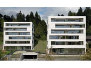 Dry-laid cement and fibre cement sheet ONDAPRESS - SWISSPEARL Italia