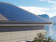 Photovoltaic module MEGASLATE - SWISSPEARL Italia