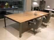 Rectangular meeting table MORE | Rectangular meeting table - ESTEL GROUP