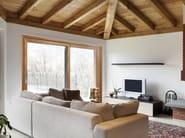Aluminium and wood thermal break window EKU® WOODART TT AS - PROFILATI