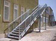 Metal fire escape staircase SIMPLE - SO.C.E.T.
