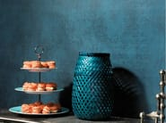 Suede fabric wall tiles VINTAGE LEATHER - Élitis