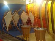 Wooden room divider NEST - D.D.F. Curvati Snc di De Luca Denis & Flemi
