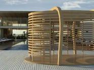 Wooden gazebo OVIS - D.D.F. Curvati Snc di De Luca Denis & Flemi